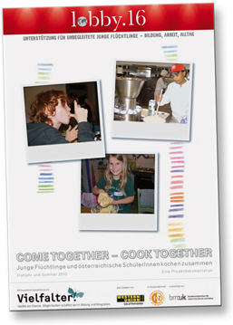 Broschüre cometogether - cooktogether